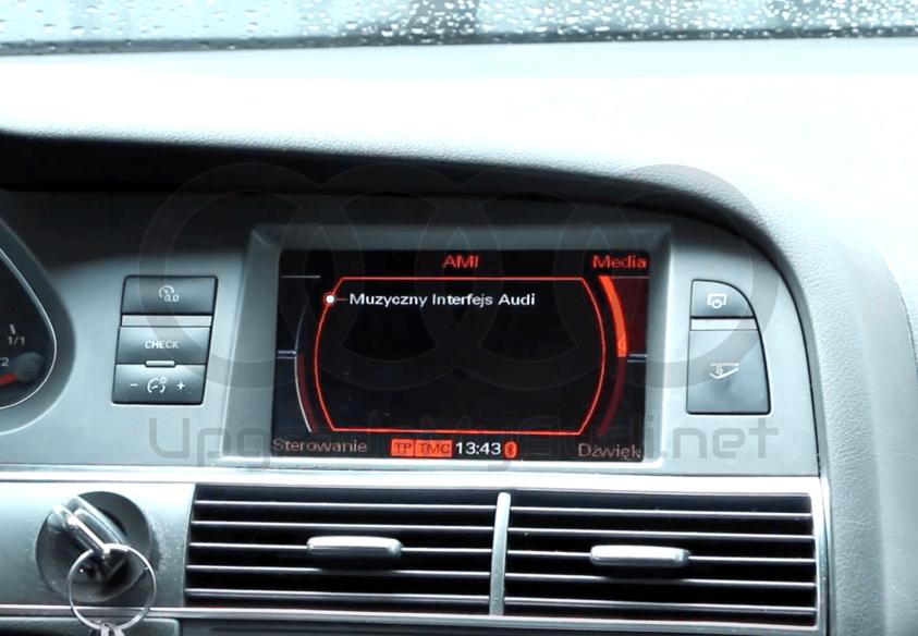 Audi Music Interface - Stream music to MMI 2G & 3G