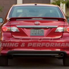Toyota Yaris Trd Spoiler Harga Grand New Avanza Di Pontianak Aleron 08 12  Upgrade Peru Imports