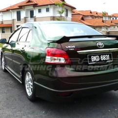 Toyota Yaris Trd Spoiler All New Kijang Innova 2013 2008 2012 Upgrade Peru Imports