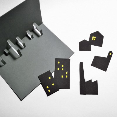 MAKING OF: CITY pop-up card | upgradesign