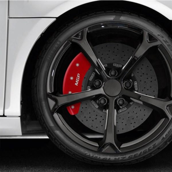 Mgp Set Of 4 Red Caliper Covers 2016-2017 Mazda Cx-3