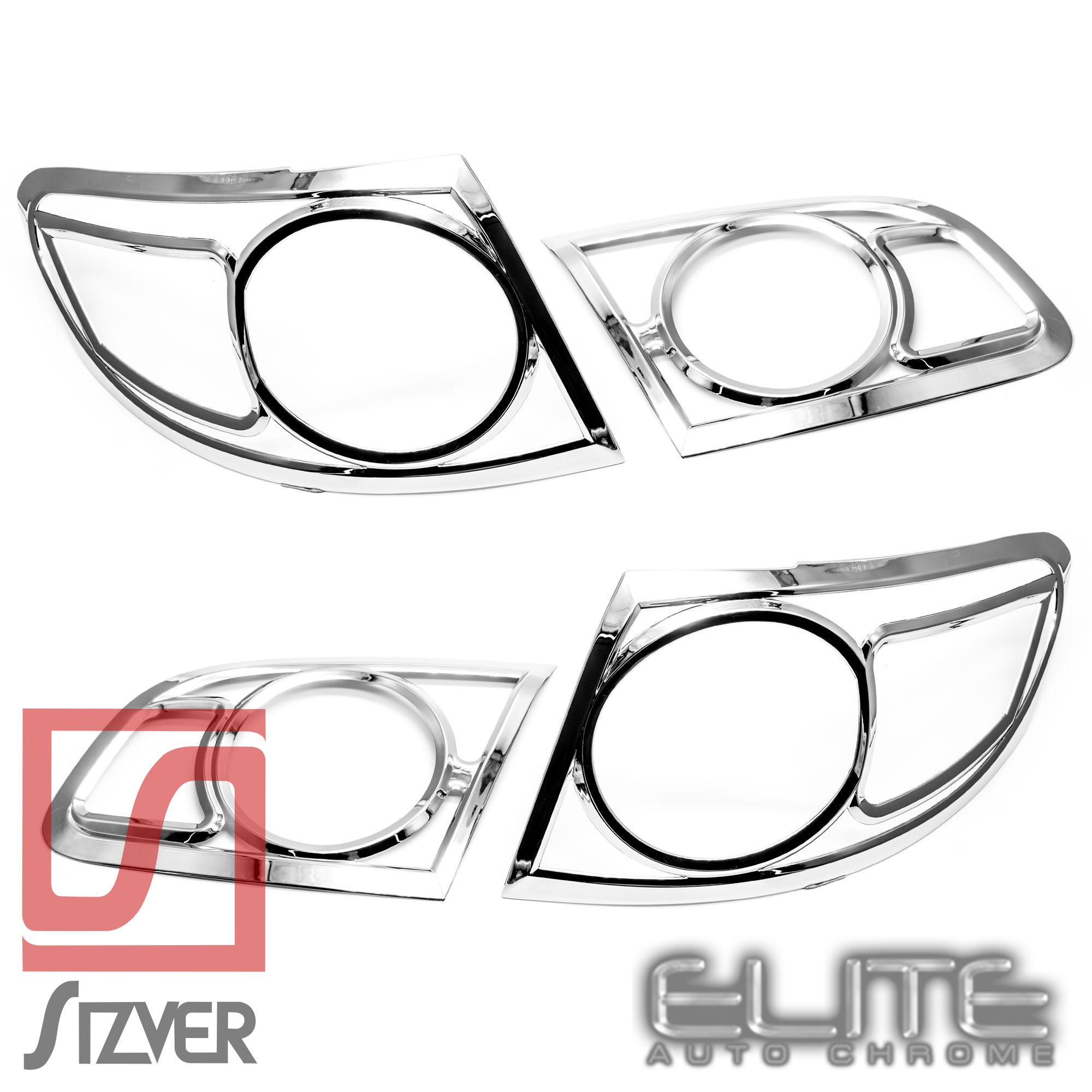 Taillight Bezels Fits Hyundai Santa Fe
