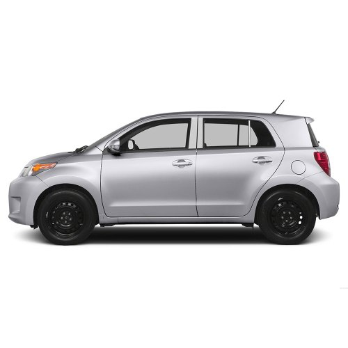 small resolution of diamond grade 6pc stainless steel pillar post covers for 2008 2014 scion xd