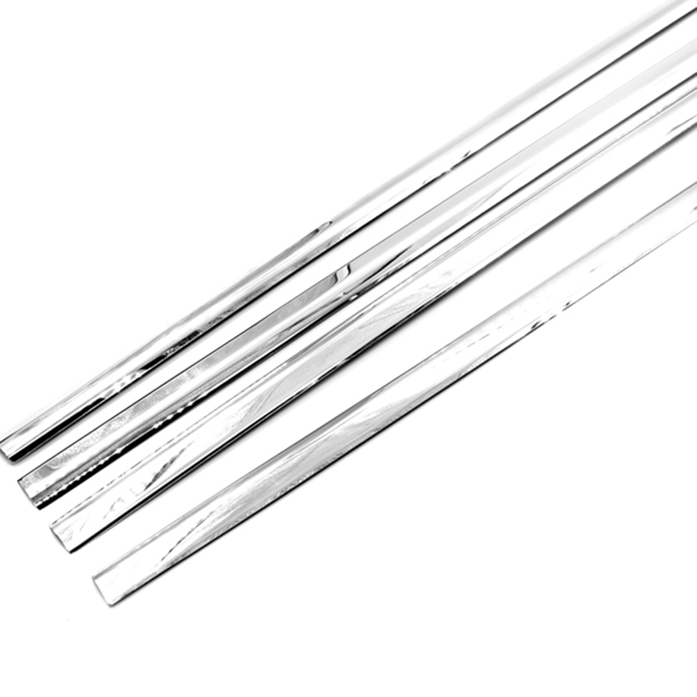 Chrome Window Trim for 2014-2017 GMC Sierra 1500 [Set of 4