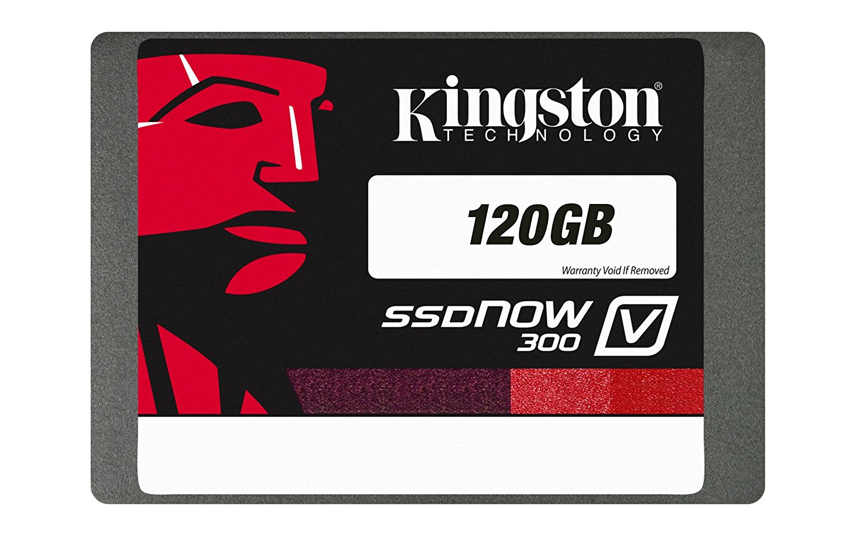 Kingston Digital 120GB SSDNow V300 SATA 3 2.5 (7mm height) Solid State Drive (SV300S37A/120G) Kingston