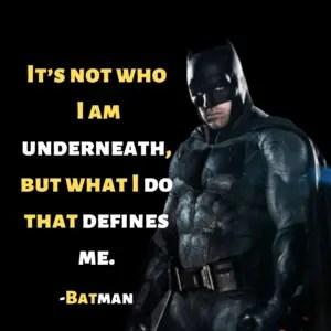 Batman dialogue
