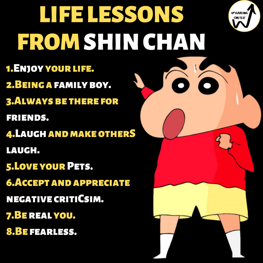 Life lessons from Shin Chan