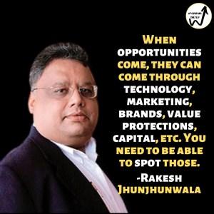 Rakesh Jhunjhunwala best quotes