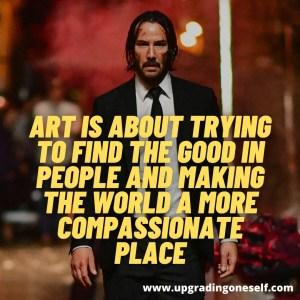 Keanu Reeves words