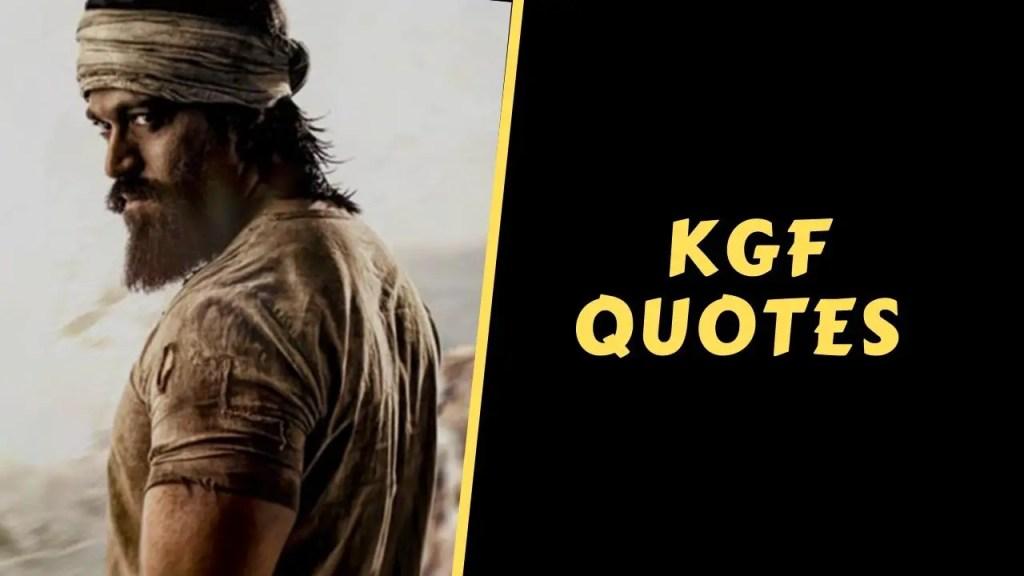 kgf quotes