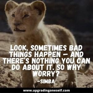 lion king simba quotes