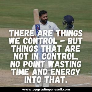 rohit sharma thoughts