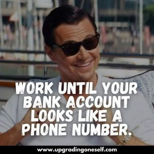 wolf of wall street quotes wallpaper