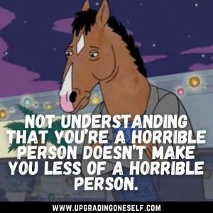 bojack horseman hard hitting quotes