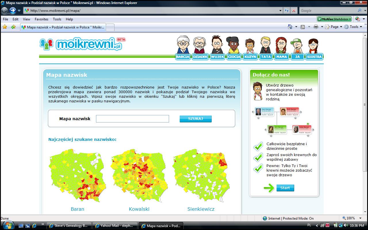 Screen Shot ofMoiKrewni