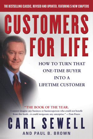 Customers For Life Book Cover