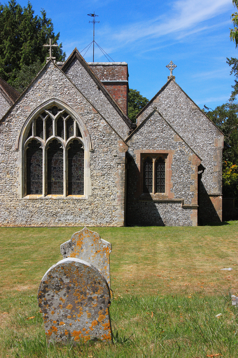The Church of the Blessed Mary, Upham