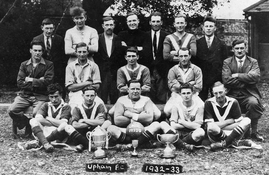 Upham Football Club 1932-33