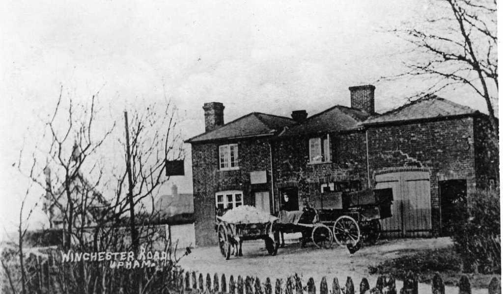 The Woodman Inn in 1900