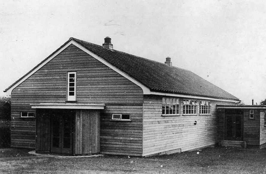 Upham Village Hall - 1939