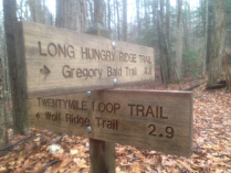 Completed Long Hungry Ridge