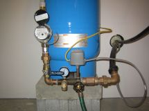 Water Well Pressure Tank Installation