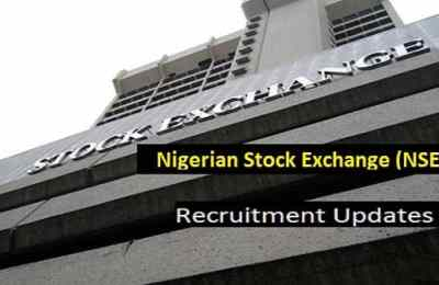 Nigerian Stock Exchange Recruitment 2020