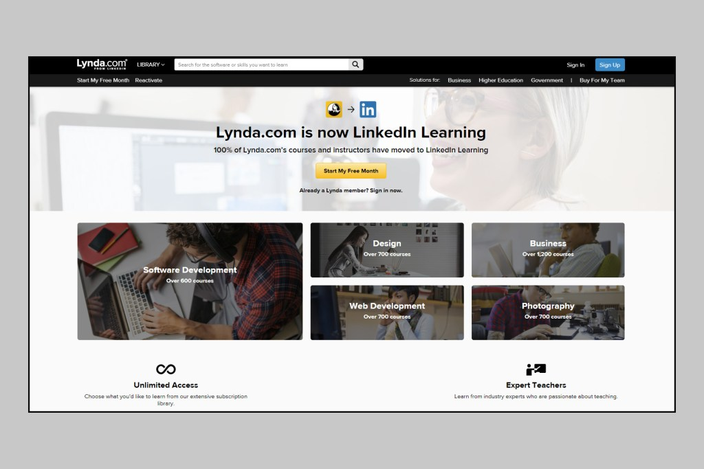 lynda-online-learning-screen