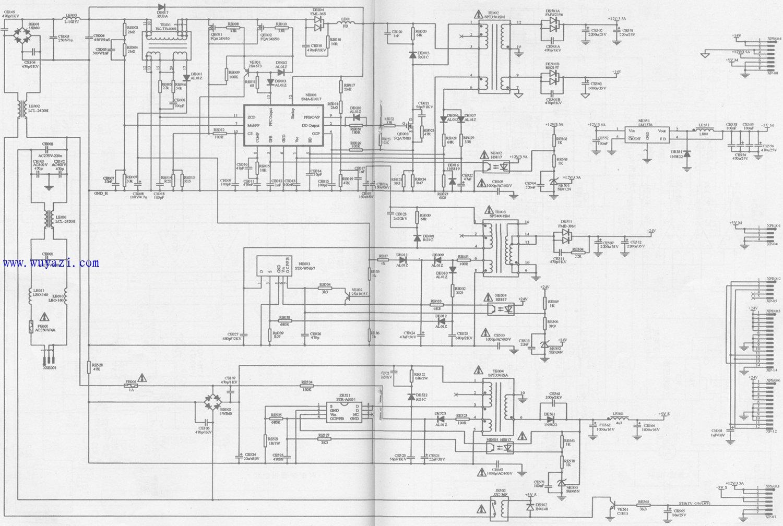 液晶電視有行和場掃描電路嗎?-如何區分電視機的行掃描電路和場掃描電路