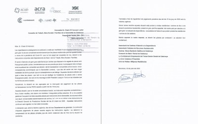 CARTA DIRIGIDA AL CONSELLER CHAKIR EL HOMRANI
