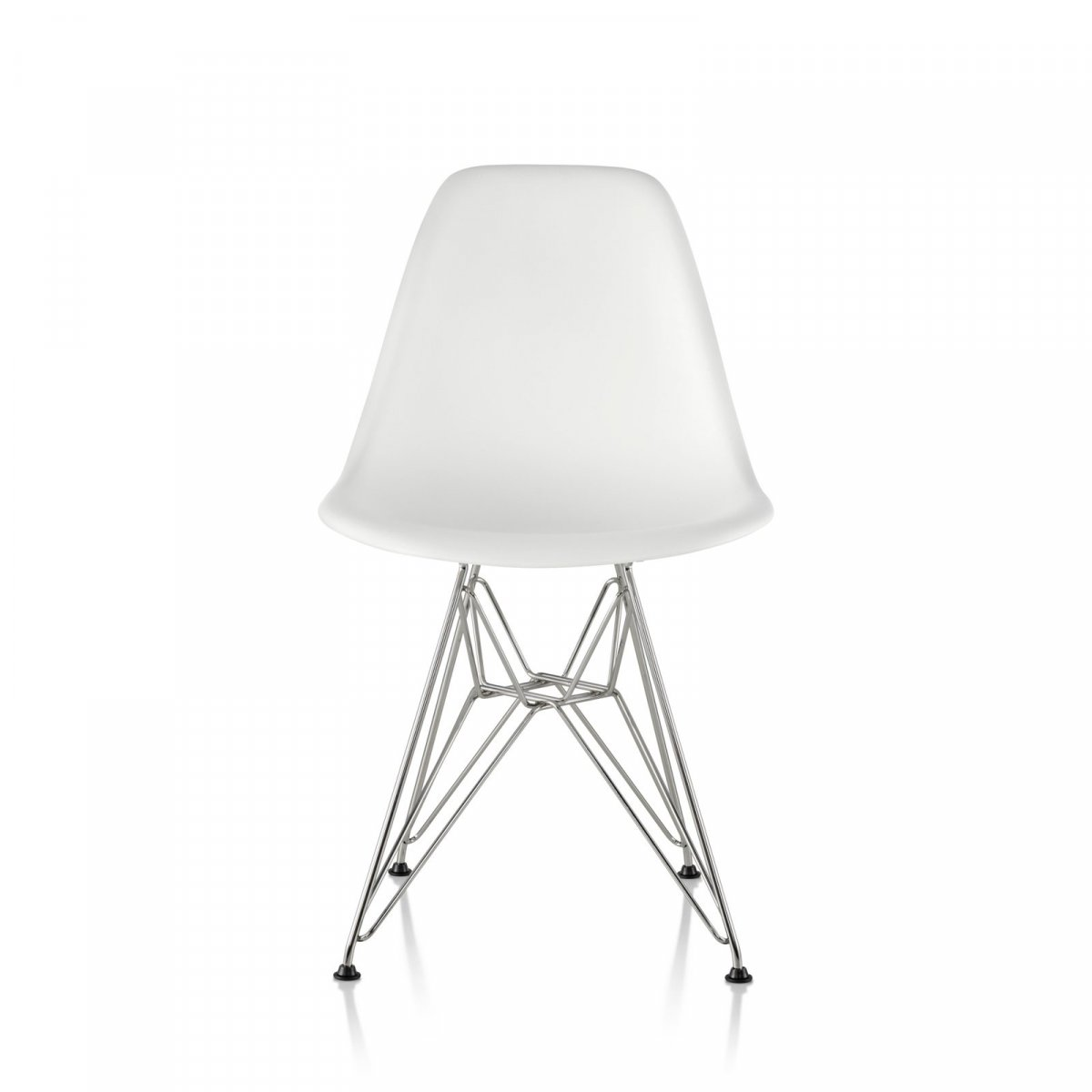 eames molded side chair foam folding plastic wire base by charles and ray