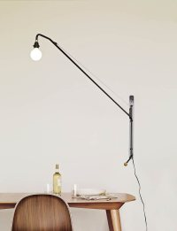 Potence pivoting wall lamp by Jean Prouv for Vitra