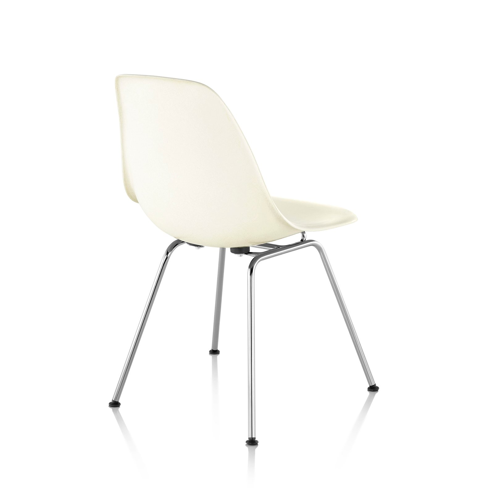 eames molded side chair gaming best plastic 4 leg base by charles