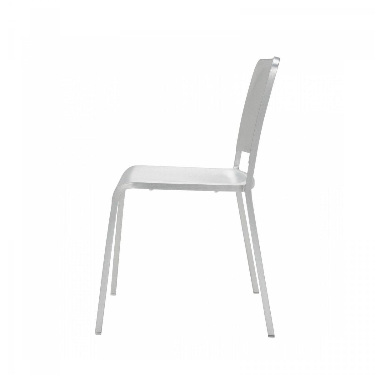 brushed aluminum chairs vinyl adirondack 20-06 stacking chair by foster + partners for emeco   up interiors