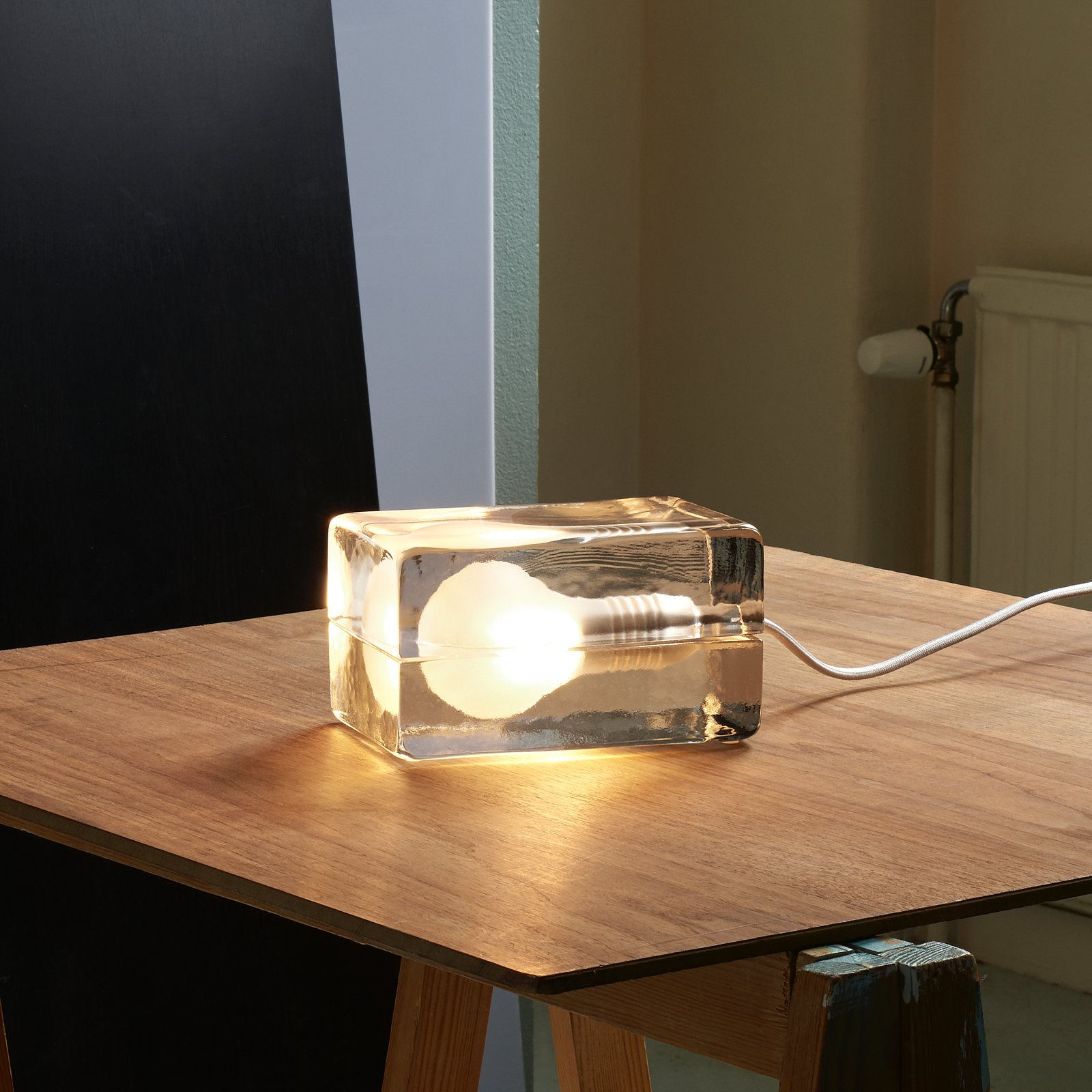 Block Lamp by Harri Koskinen for Design House Stockholm  UP interiors