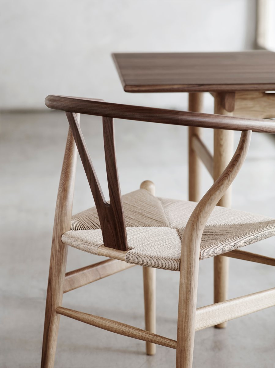 Wishbone Chairs Carl Hansen Søn Ch24 Wishbone Chair