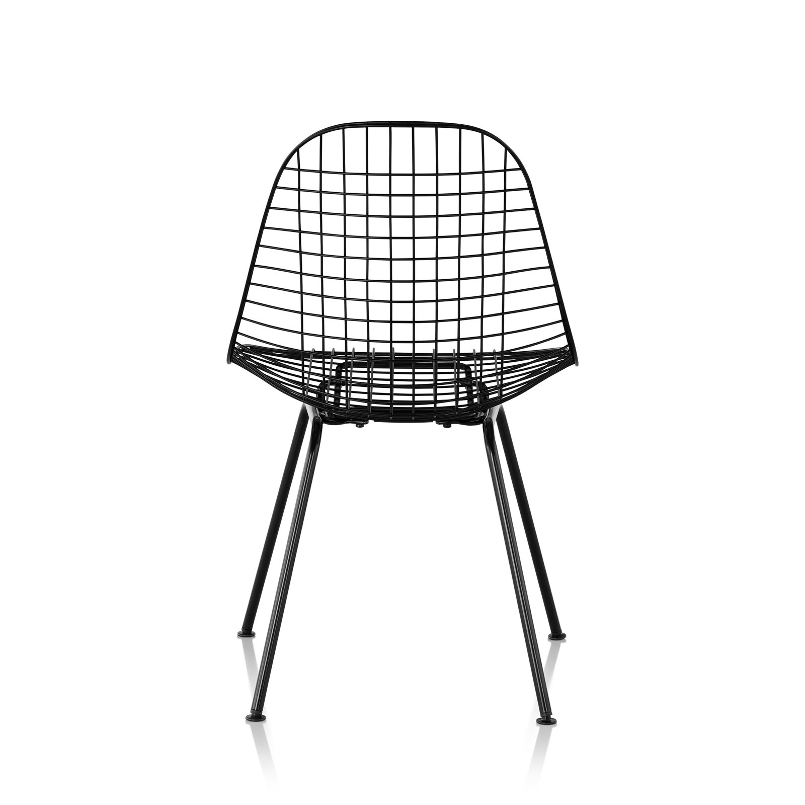 Eames Wire Chair Herman Miller Eames Wire Chair 4 Leg Base