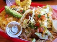 Migas Tacos + Fried Avocado Tacos