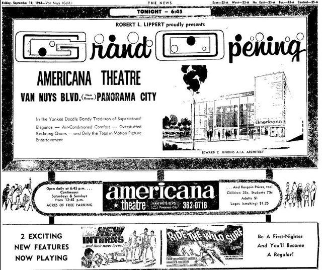 Americana Theater AD 1968