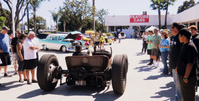 Self-built hot rods were a big hit