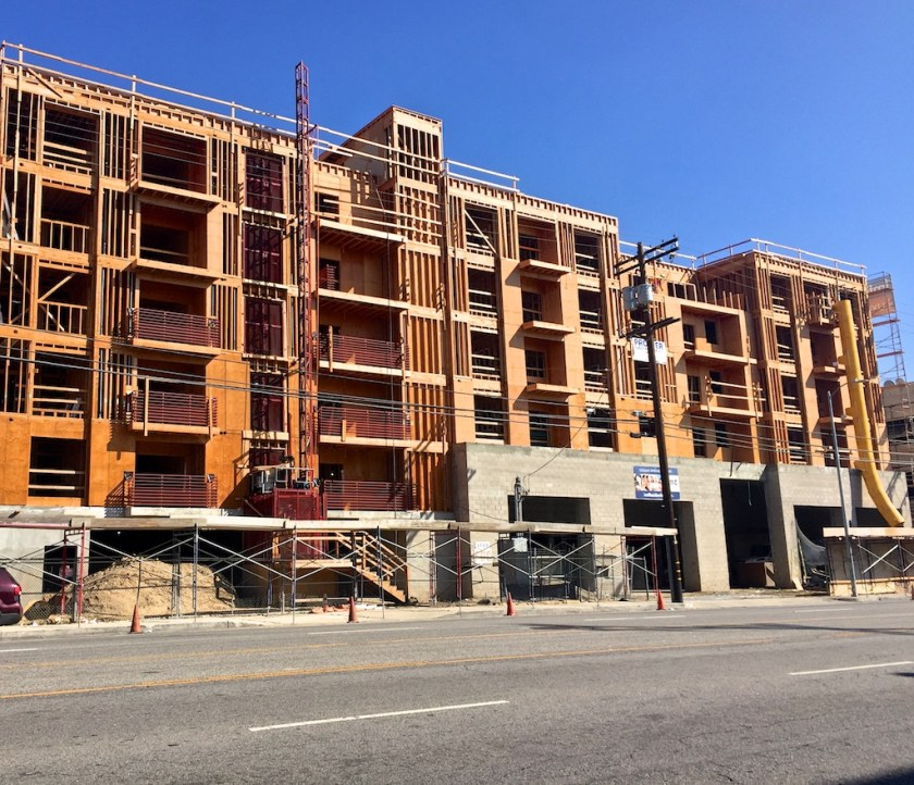 Out: Hot Sheets Motel In: Mega-Apartments, with ground floor retail