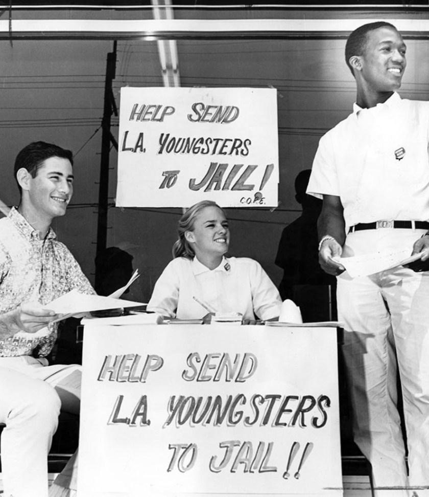 Signing up Freedom Riders, 1961