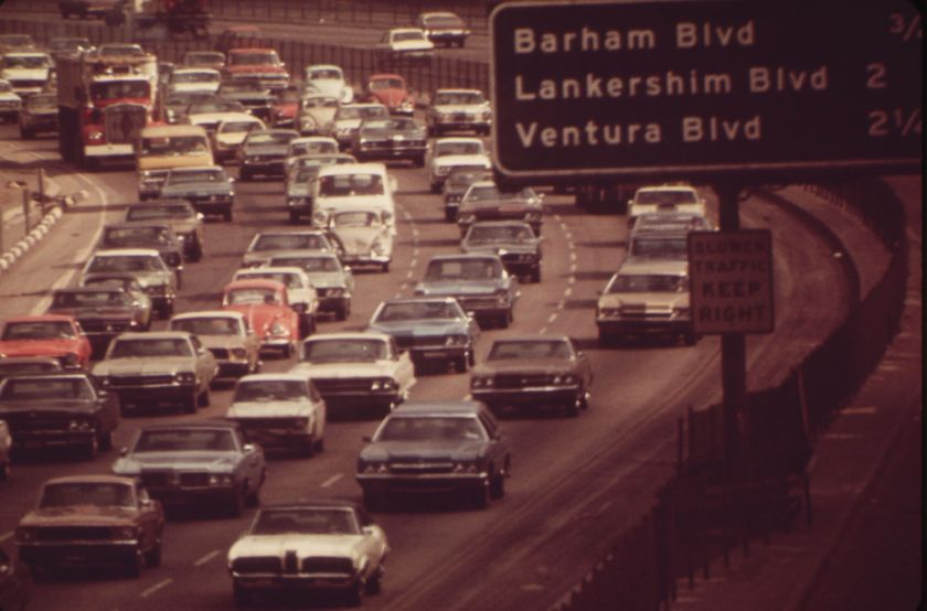 Hollywood Freeway, 1972