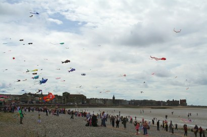 Catch the Wind Kite Festival - Morecambe, July 2009