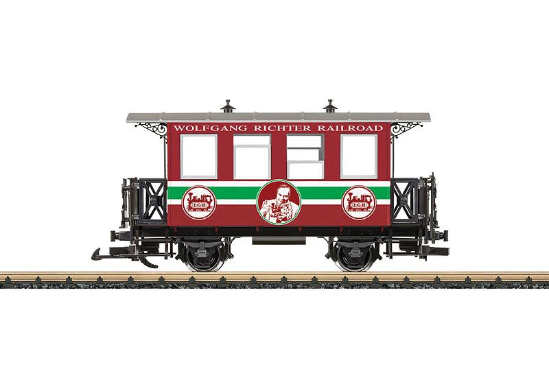 LGB#36214 PASSENGER CAR FOR RICHTER STAINZ LOCO – Upland Trains