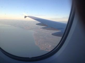 Arriving in L.A.