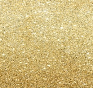 Gold glitter adjusted