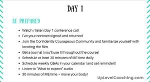 Week 1, Day 1