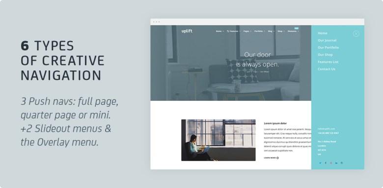 Uplift - Responsive Multi-Purpose WordPress Theme - 14