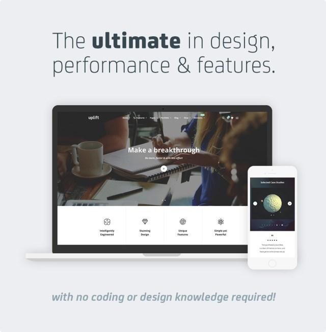 Uplift - Responsive Multi-Purpose WordPress Theme - 2